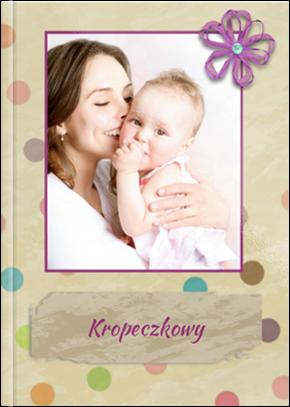 Szablon fotoksiążki Kropeczkowy - Uwolnijkolory.pl