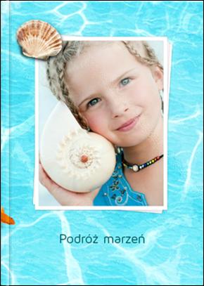 Szablon fotoksiążki Podróż Marzeń - Uwolnijkolory.pl