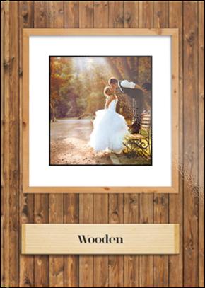 Szablon fotoksiążki Wooden - Uwolnijkolory.pl