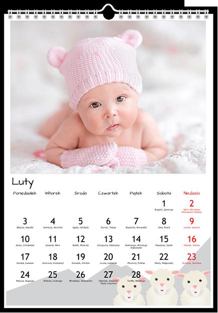 Fotokalendarz Okrąglusie - Uwolnijkolory.pl