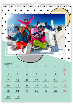 Cartoon Calendar