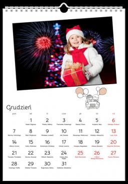 Szablon fotokalendarza Nasz Dzień - Uwolnijkolory.pl