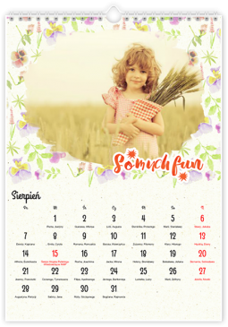 Pastelowy floral