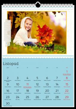 Szablon fotokalendarza Sama słodycz - Uwolnijkolory.pl