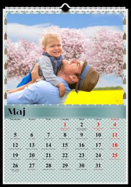 Szablon fotokalendarza Uniwersalny - Uwolnijkolory.pl