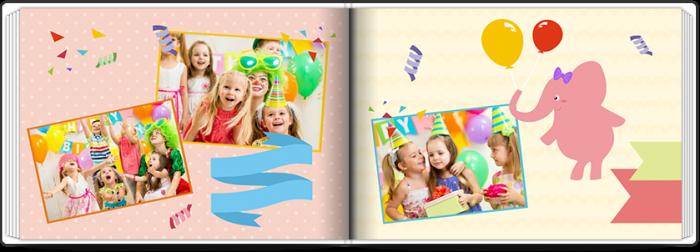 Fotoksiążka Birthday Party - Uwolnijkolory.pl