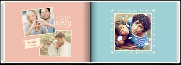 Szablon fotoksiążki Forever In Love - Uwolnijkolory.pl
