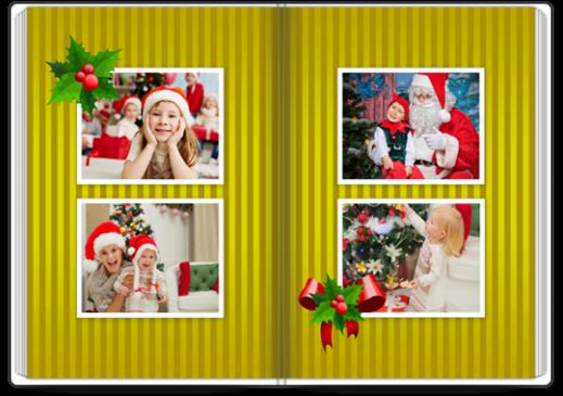 Szablon fotoksiążki Świąteczny - Uwolnijkolory.pl